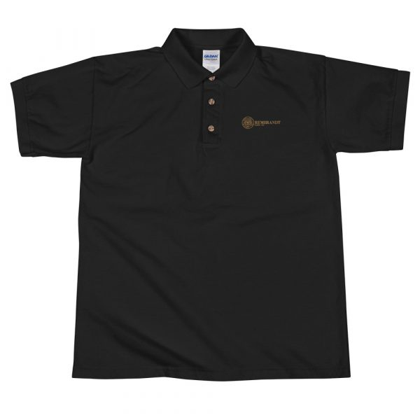 Rembrandt GlassEmbroidered Polo Shirt