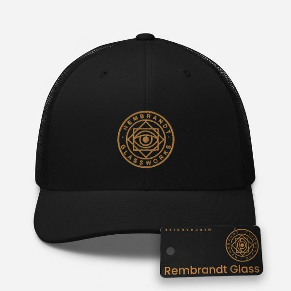 Rembrandt Glass Logo Trucker Cap