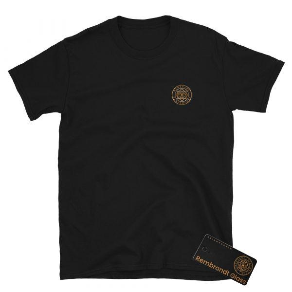 Rembrandt Glass Logo Short-Sleeve Unisex T-Shirt